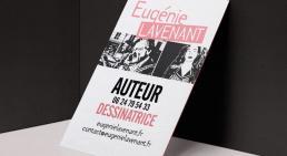 eugenie-lavenant-carte-de-visite by ultradesign